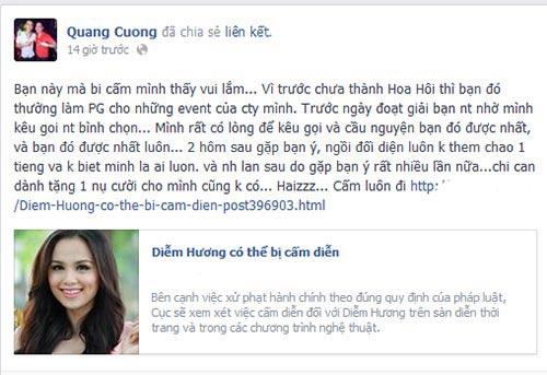 """ong bau"" quang ha mong diem huong bi cam dien - 2"