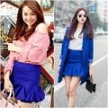 Thời trang - Minh Hằng mặc đẹp với mốt váy loe