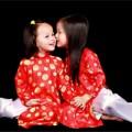 Làng sao - Con gái siêu mẫu Ngọc Thúy điệu đà với áo dài