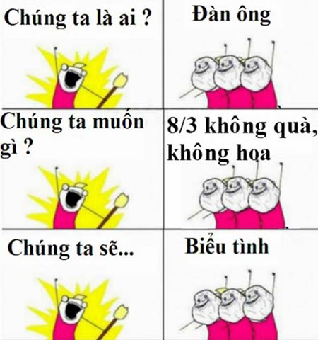 chet cuoi voi anh che 'doc' ngay 8-3 - 9
