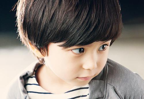 Nhóc Mason khoe đầu nấm cực yêu-2