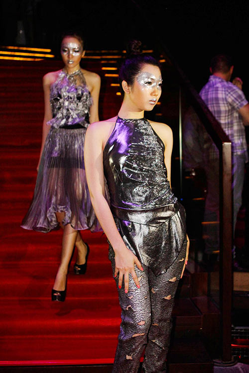 quynh paris tu hao vi len song fashion tv - 1