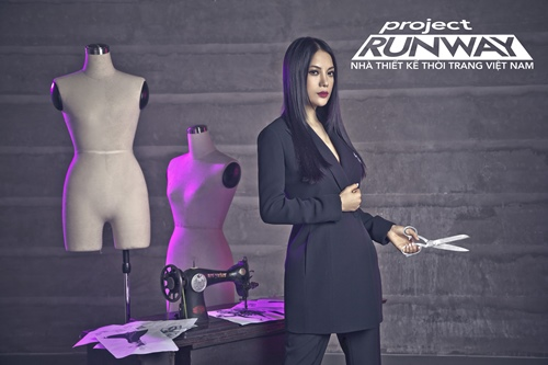 truong ngoc anh tro thanh host project runway 2014 - 3
