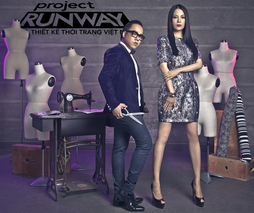 truong ngoc anh tro thanh host project runway 2014 - 8