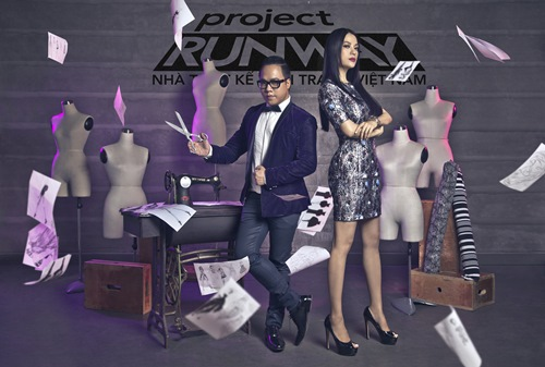 truong ngoc anh tro thanh host project runway 2014 - 9