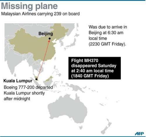 may bay malaysia cho 239 hanh khach mat tich - 2