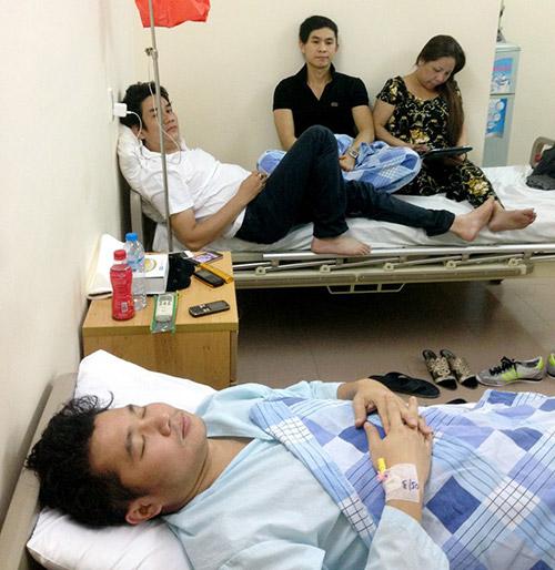 Ca sỹ Lâm Vũ nhập viện cấp cứu-2