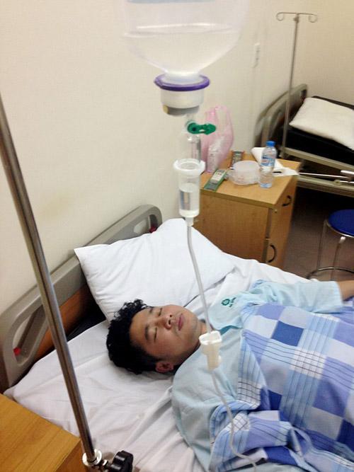 Ca sỹ Lâm Vũ nhập viện cấp cứu-1
