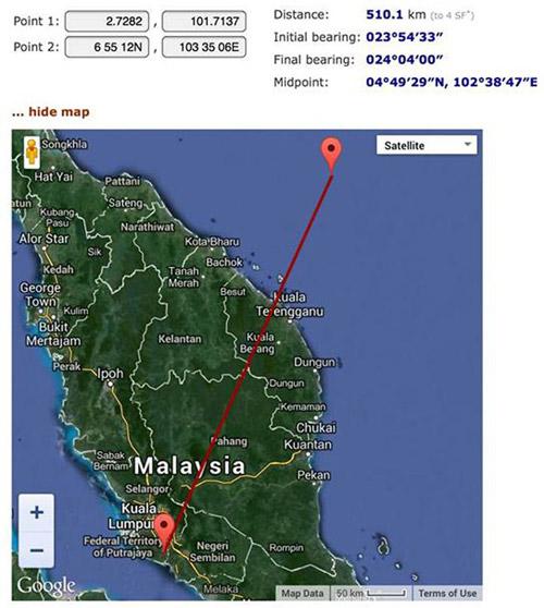Những điểm lạ lùng trong vụ máy bay Malaysia mất tích - 1