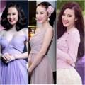 Thời trang - Angela Phương Trinh ngọt ngào với gam pastel