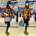 Thời trang - Phạm Băng Băng cá tính tại sân bay