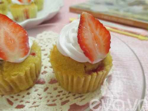 cupcake dau tay thom ngon cho be - 8