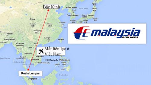 Toàn cảnh vụ máy bay Malaysia mất tích bí ẩn - 1