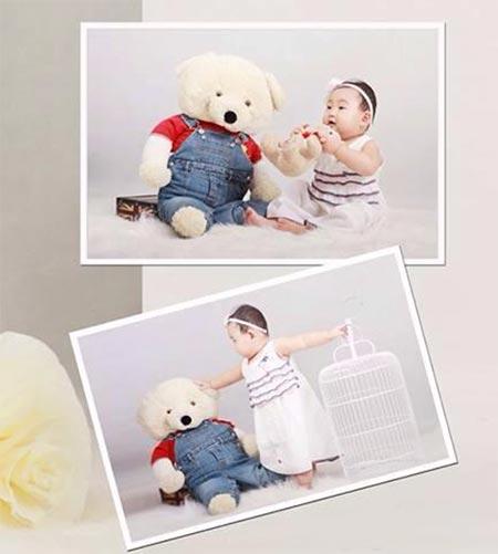 hh huong giang khoe con gai sap tron 1 tuoi - 5