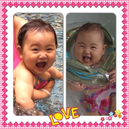 hh huong giang khoe con gai sap tron 1 tuoi - 4