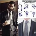 Thời trang - Gợi ý thắt cà vạt đẹp chuẩn cho chàng