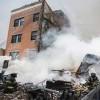 Tòa nhà 5 tầng sập sau tiếng nổ tại New York