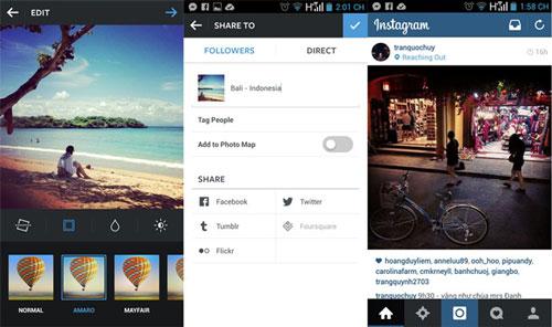 instagram tren android cap nhat giao dien phang - 1