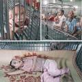 Làm mẹ - Nỗi đau trẻ sống trong chuồng sắt