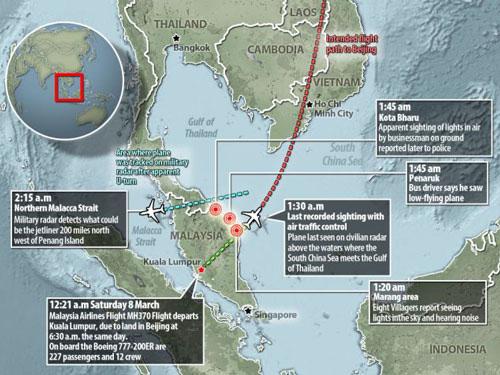 may bay mh370 bi giau trong rung ram? - 1