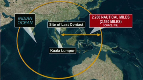 mh370 da bi ep bay ve phia an do? - 4