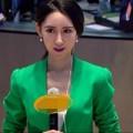 Làm đẹp - Nữ phóng viên đẹp hơn cả Angelababy