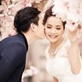 Làng sao - Đoàn Thúy Trang khoe ảnh cưới lãng mạn