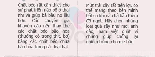 chon thuc pham tot nhat cho ba bau - 7