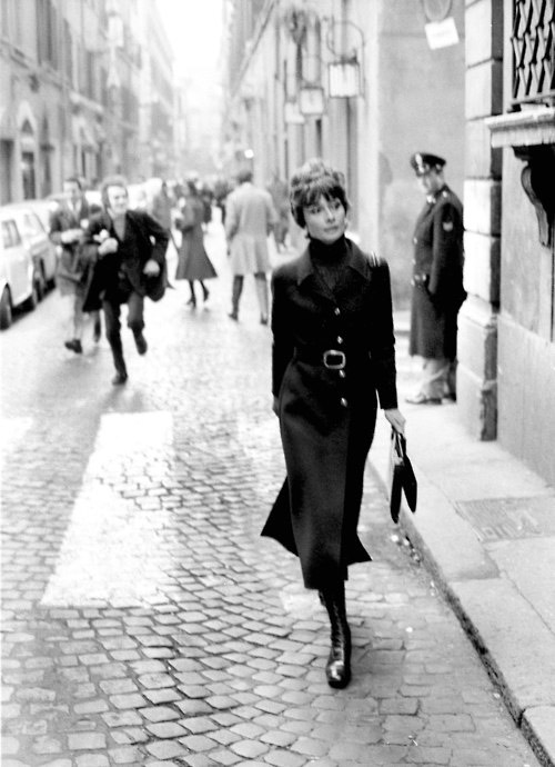 loat anh street style quy gia cua audrey hepburn - 14