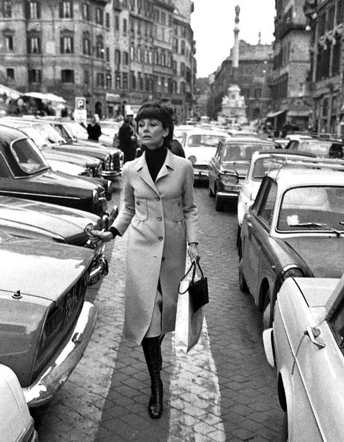 loat anh street style quy gia cua audrey hepburn - 19
