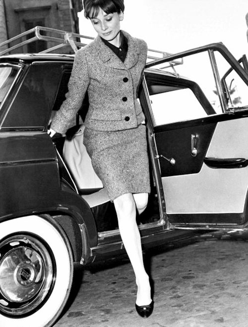 loat anh street style quy gia cua audrey hepburn - 12