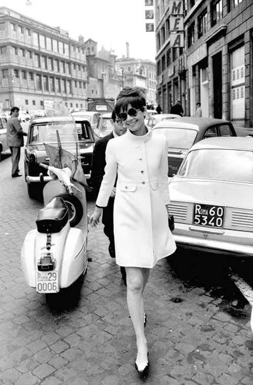 loat anh street style quy gia cua audrey hepburn - 13