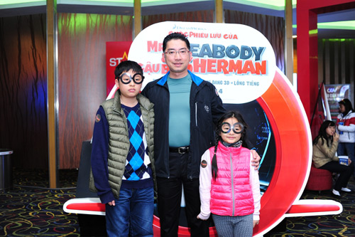 con mua qua tang tu mr. peabody & sherman - 1