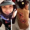 """Làng sao - Phan Như Thảo """"cởi áo"""" làm người mẫu body painting"""