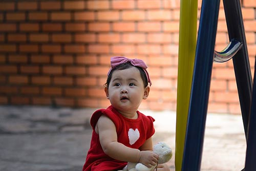 """ngam ve """"tron xoe"""" cua con gai hh huong giang - 4"""