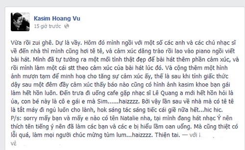 """kasim hoang vu phu nhan chuyen """"ban gai 8 nam"""" - 3"""