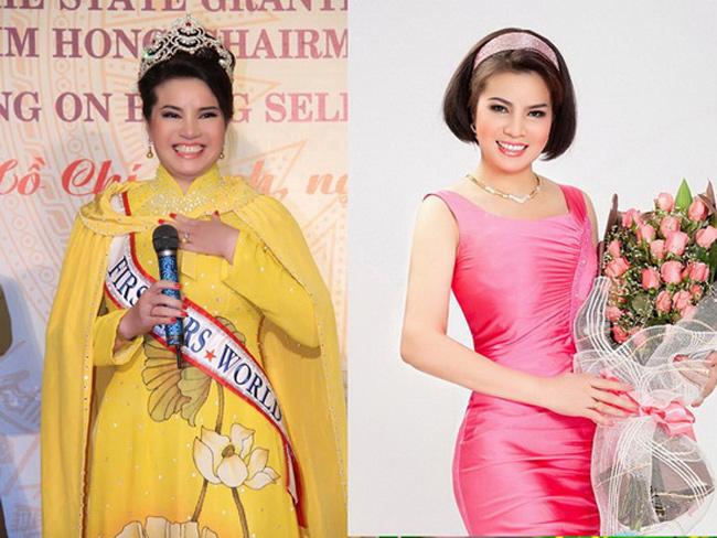 Hoa hậu Quý Bà Thế Giới Kim Hồng vốn được ngưỡng mộ vì vẻ đẹp và tài năng hiếm có. Tuy nhiên, Tiến Sĩ Kim Hồng cũng cần nhờ tới photoshop để thân hình được thon gọn hơn.