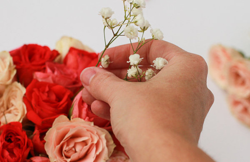 3 buoc de co binh hoa ombre xinh yeu - 4