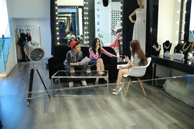thanh hang lam stylist cho top 5 vietnam idol - 3