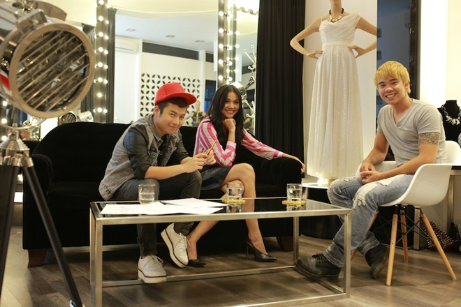 thanh hang lam stylist cho top 5 vietnam idol - 8