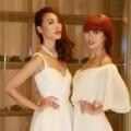 Thời trang - Siêu mẫu Hà Anh đọ sắc trắng cùng Huyền Trang