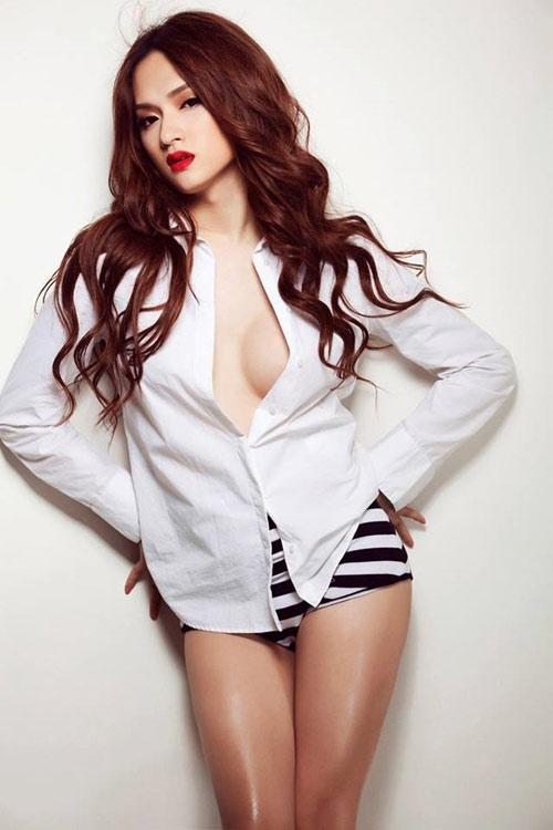huong giang idol ban nude tren bia sach - 6