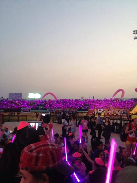 """snsd """"lam mua lam gio"""" san khau hec korea festival - 41"""