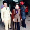 Tin tức - HN: Cụ bà gần 100 tuổi đi lạc đã được con đón về