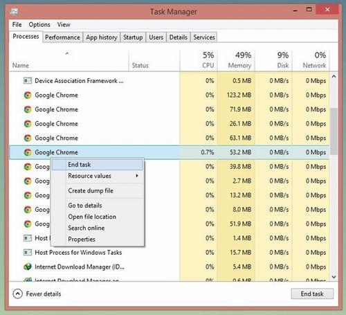 """5 cach de xoa mot tap tin dang """"treo"""" trong windows - 3"""