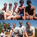 Đi đâu - Xem gì - Nhóm 5 chàng trai chụp 1 kiểu ảnh trong 30 năm