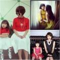 Thời trang - Thời trang đôi dễ thương của mẹ con Mi Vân