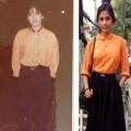 Thời trang - Trương May  thích mặc đồ 30 năm trước của mẹ