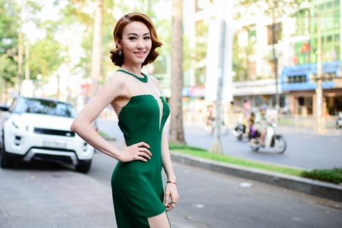 """ngan khanh: """"ap luc khi the vai diem huong"""" - 2"""