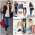 Thời trang - Diện jeans đẹp như Miranda Kerr không khó!